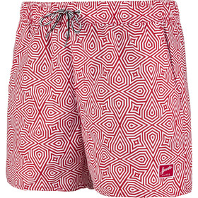 "speedo Vintage Printed 14"" Watershorts Herren red/white"